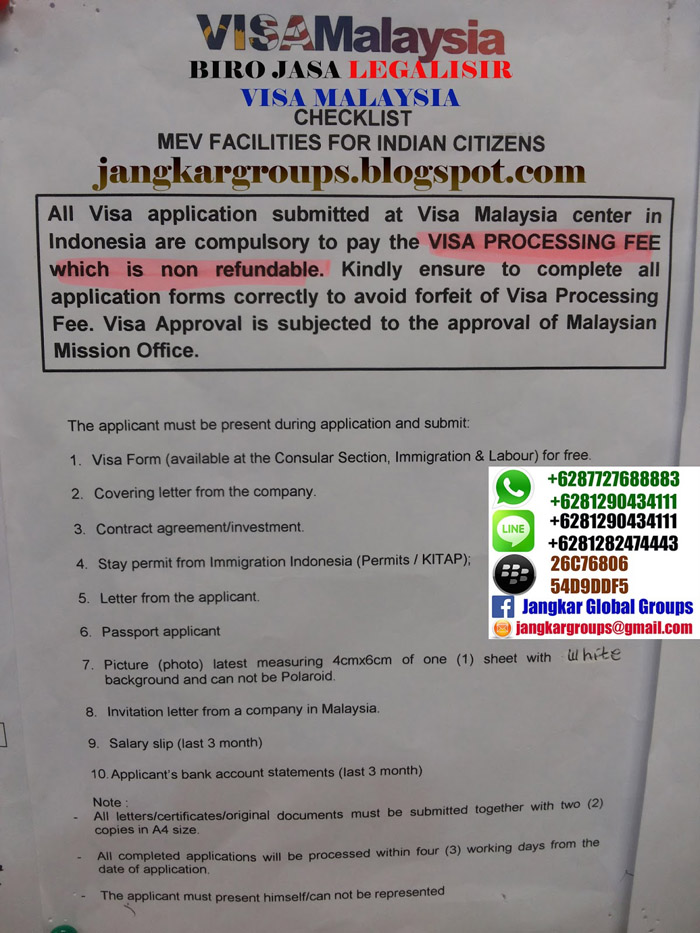 visa malaysia for indian citizen