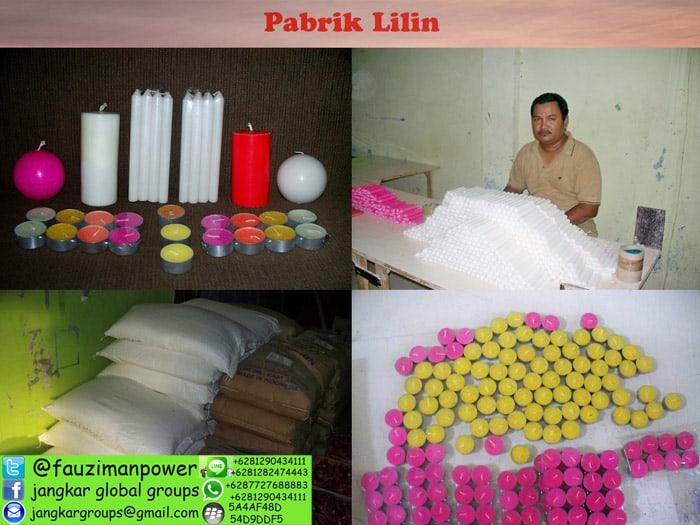 pabrik lilin