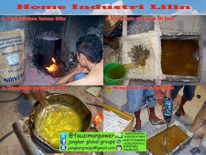 home industri lilin dan export lilin