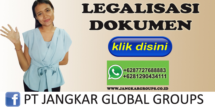 legalisasi dokumen