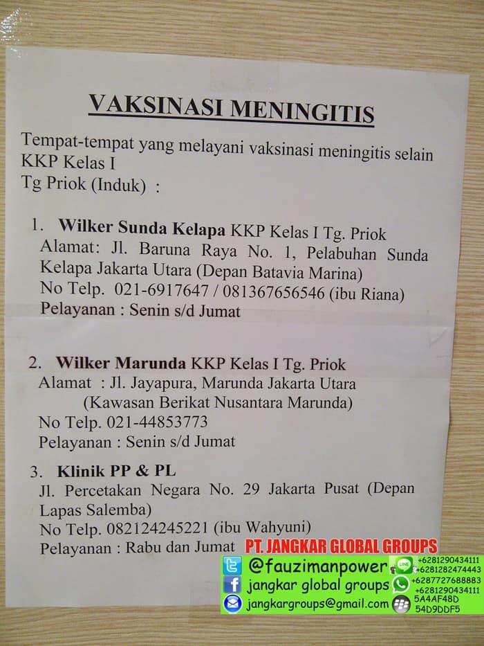 Vaksin Yellow Fever Dan Icv Jangkar Global Groups