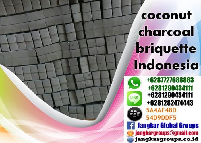 coconut charcoal briquette indonesia