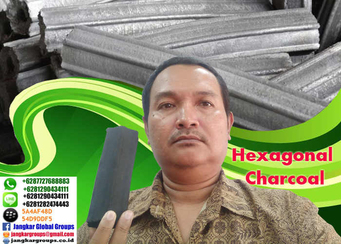 hexagonal charcoal