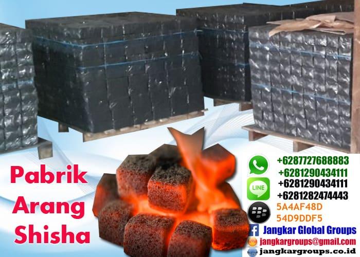 pabrik arang shisha