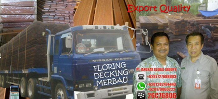 export decking merbau papua