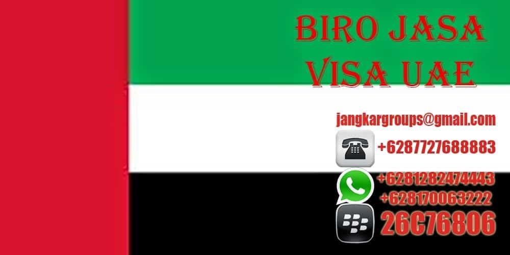 BIRO JASA URUS VISA DUBAI UAE