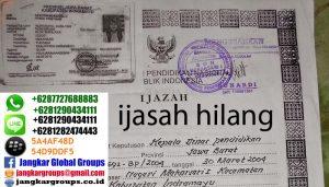 IJASAH HILANG