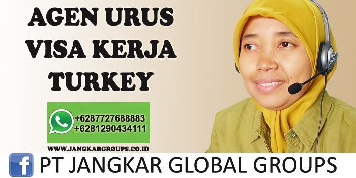agen urus visa kerja turki