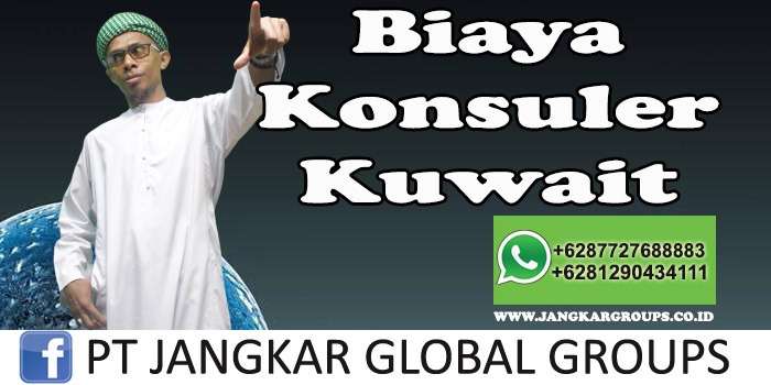 Biaya Konsuler Kuwait