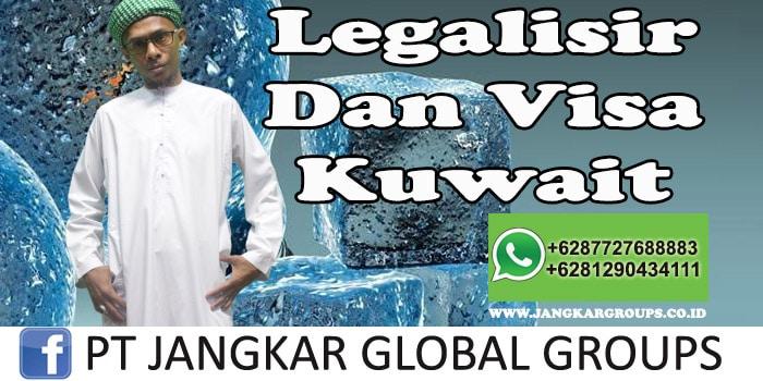 Legalisir dan visa kuwait