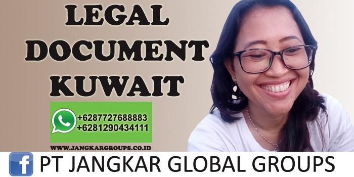 legal document kuwait
