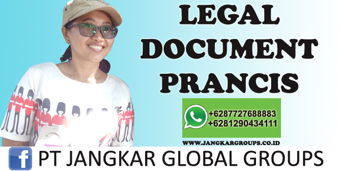 legal document prancis