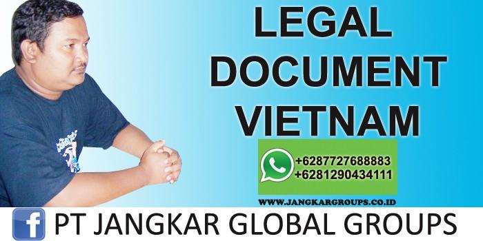legal document vietnam