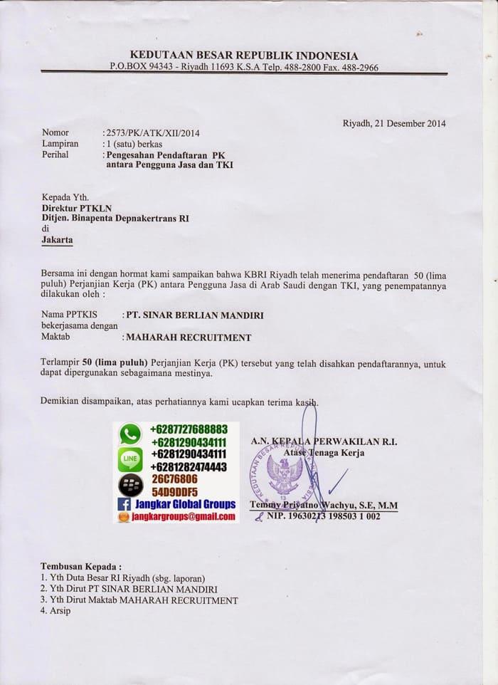 Demand Letter Ksa Jangkar Global Groups
