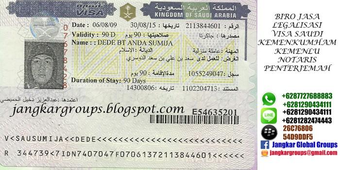 visa saudi arabia - biro jasa pengurusan visa