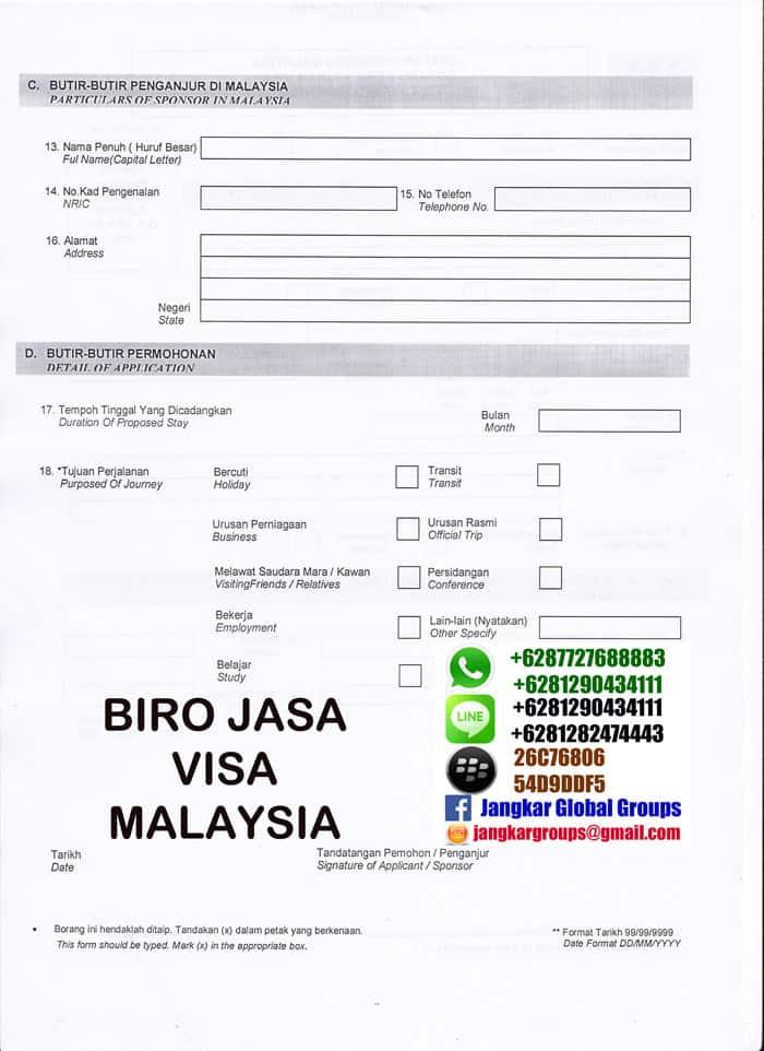 Borang Visa Malaysia Jangkar Global Groups