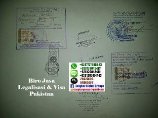legalisasi ijazah pakistan