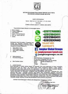 Surat Keterangan Domisili Usaha Jangkar Global Groups