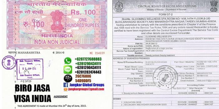 visa kerja india