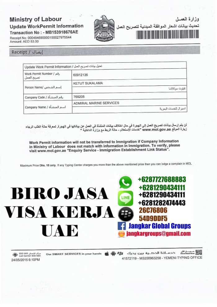 visa kerja offshore ke uae