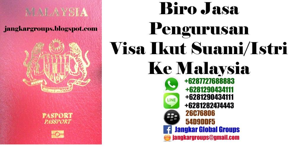 visa malaysia ikut suami atau istri