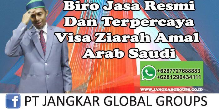 Biro Jasa Resmi Dan Terpercaya Visa Ziarah Amal Arab Saudi