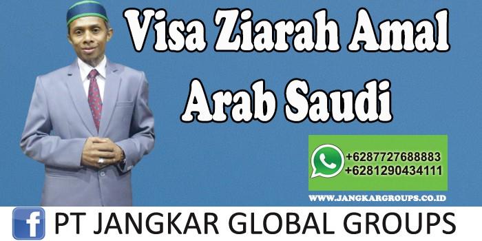 Visa Ziarah Amal Arab Saudi