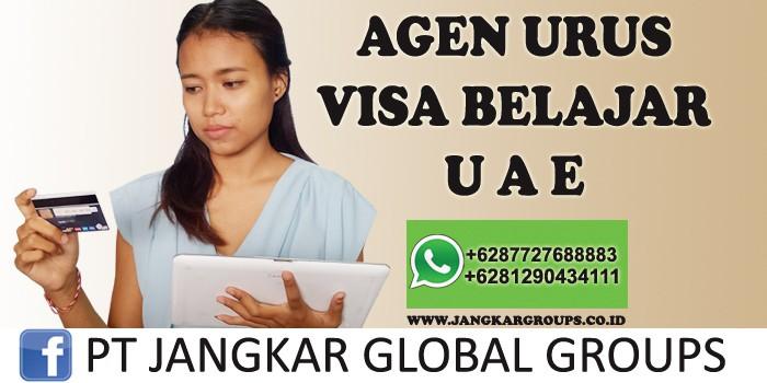 agen urus visa belajar uae