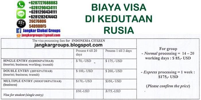 biaya-visa-rusia