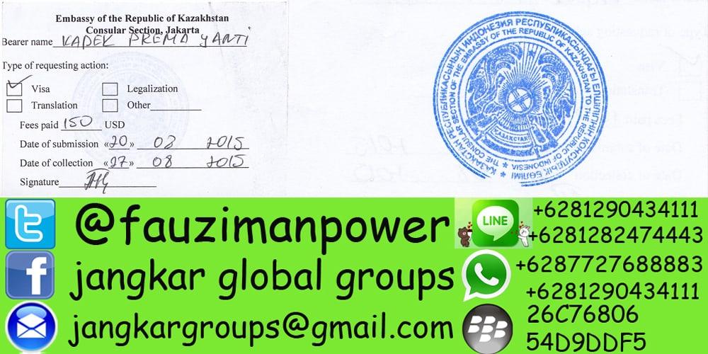 embassy kazakhstan jakarta