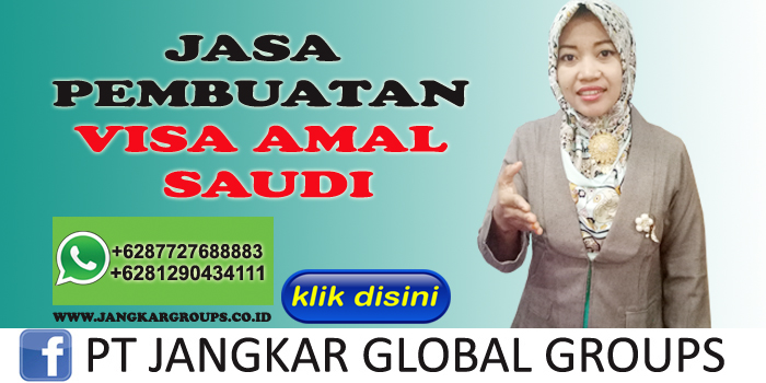 jasa pembuatan visa amal saudi