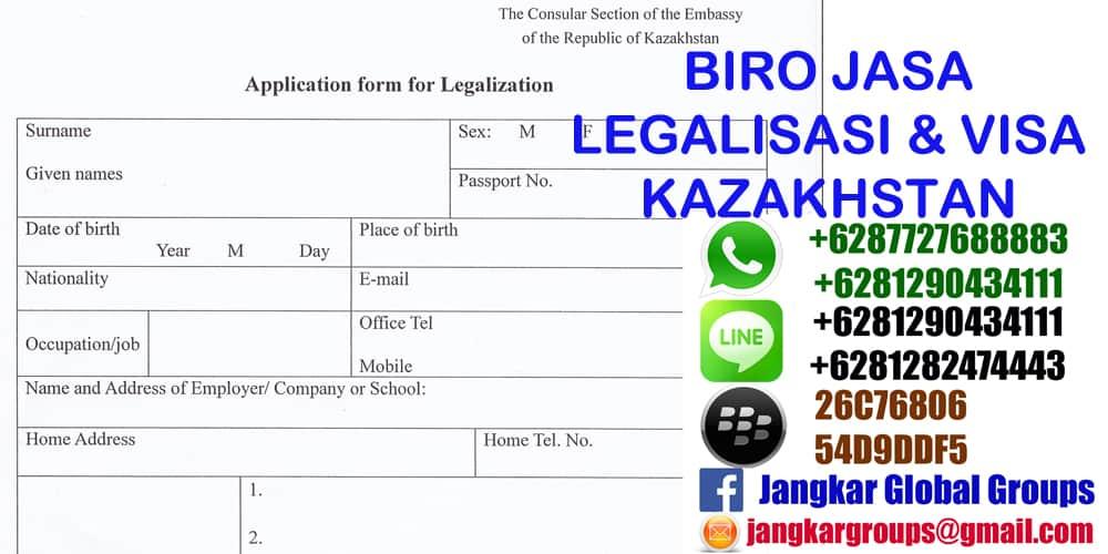 legalisasi dokumen di kazakhstan