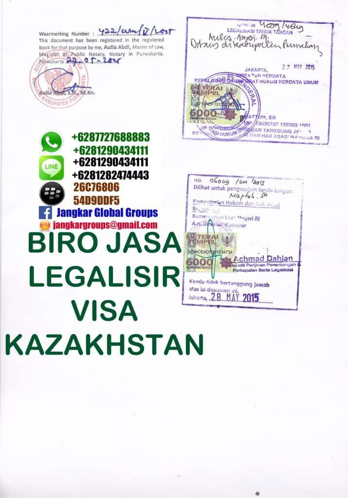 legalization kazakhstan