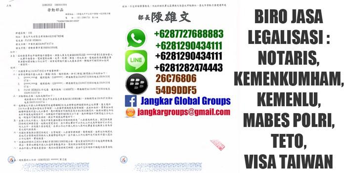 visa untuk tenaga ahli di taiwan