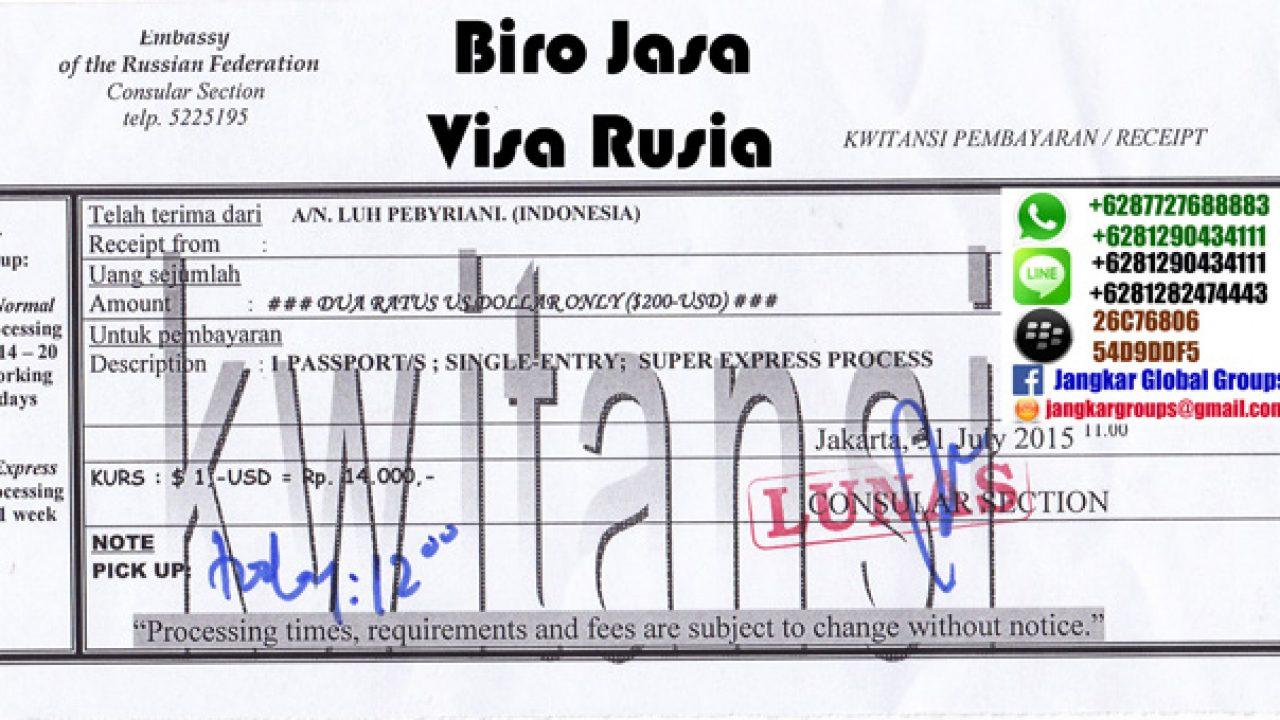 Jasa Urus Visa Wisata Ke Rusia Jangkar Global Groups
