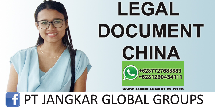 legal document china