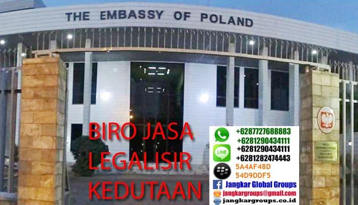Legalisir kedutaan