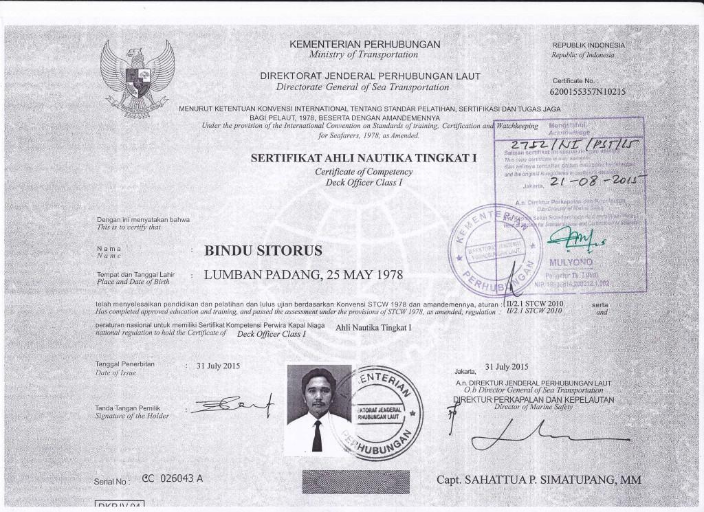 legalisir sertifikat hubla