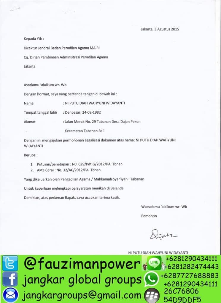 Legalisir Akta Cerai Di Badilag Ma Jangkar Global Groups