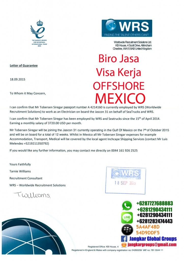 letter of guarantee mexico