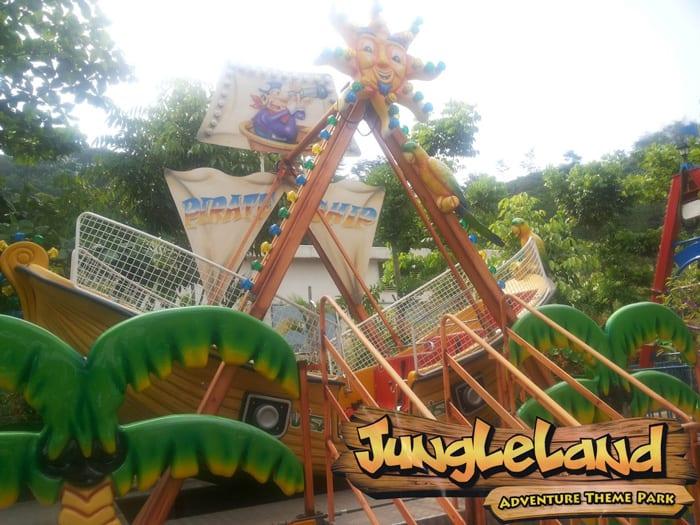 pirate ship jungleland