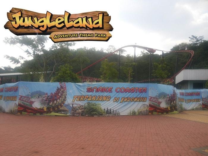 snake coaster jungleland