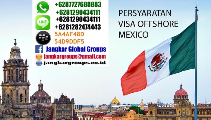 visa kerja offshore ke mexico