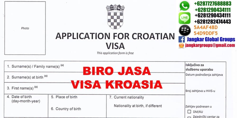 biro jasa visa kroasia