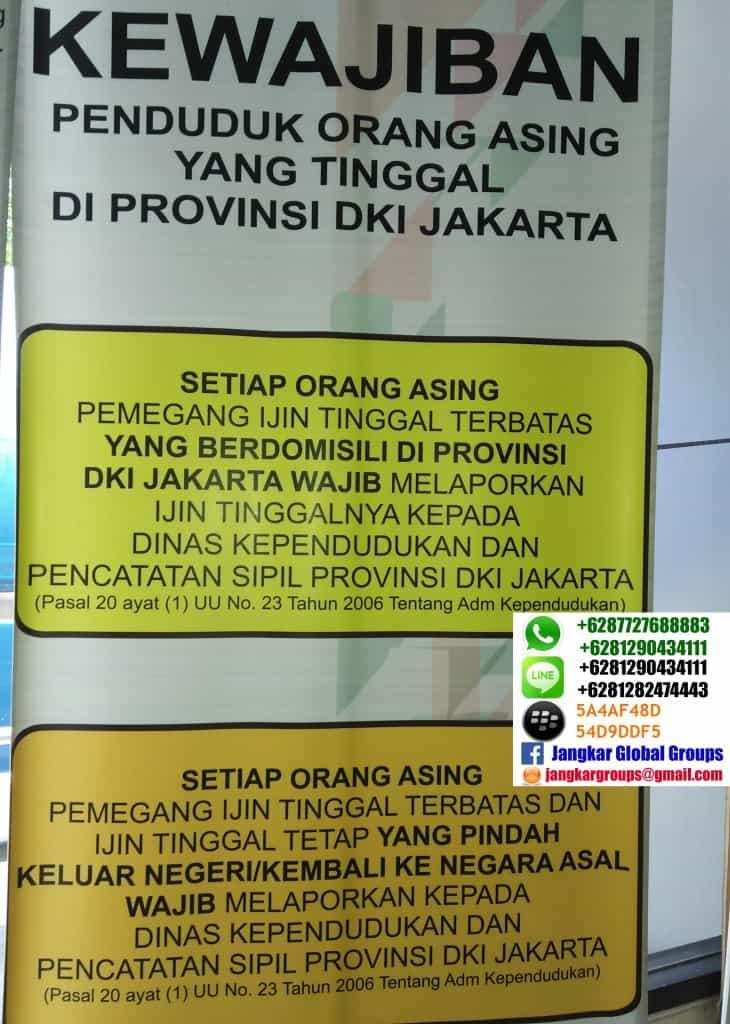 kewajiban orang asing di indonesia