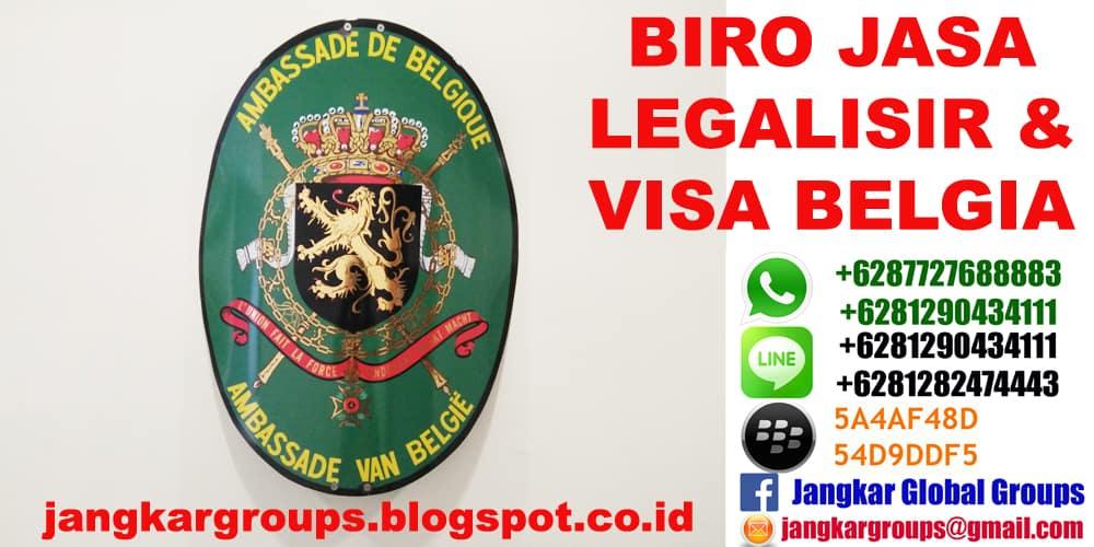 legalisir belgia
