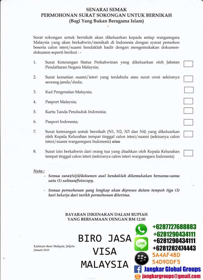 Persyaratan Menikah Non Muslim Di Malaysia Jangkar Global Groups