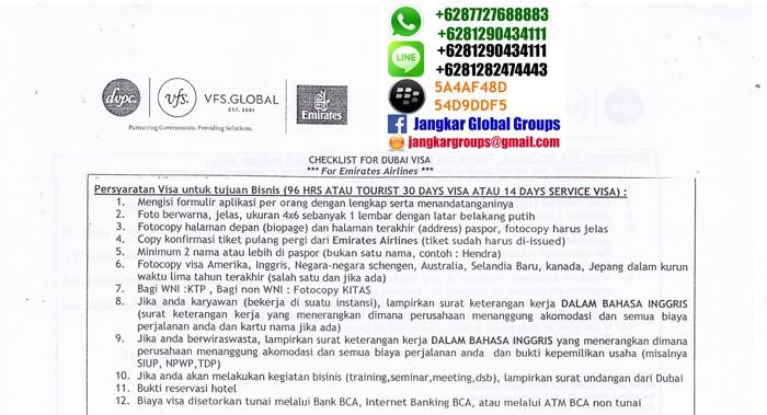 persyaratan visa bisnis ke uae