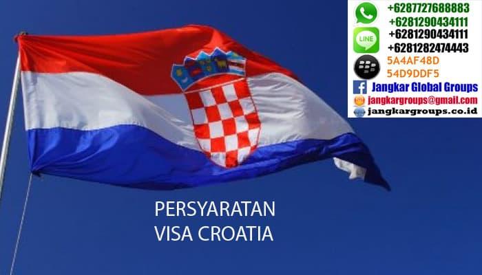 persyaratan visa kroasia