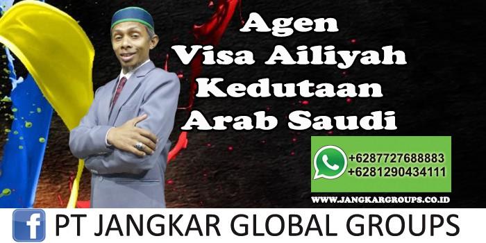 Agent Visa Ailiyah kedutaan arab saudi